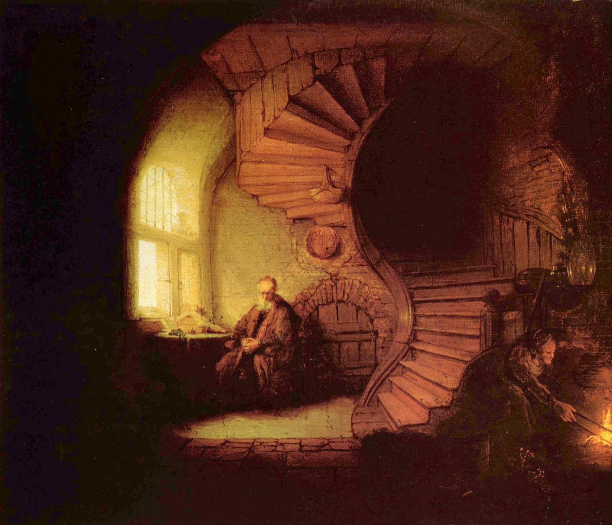 Bienvenue Le_philosophe_par_Rembrandt