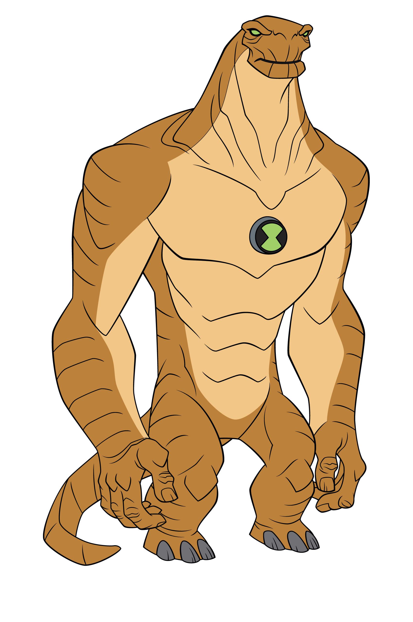 Les personnages de ben 10 alien force