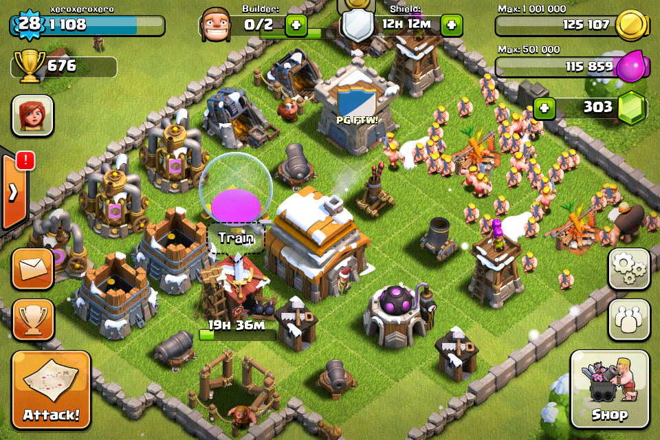 Clash of Clans Defense Town Hall Level 5
