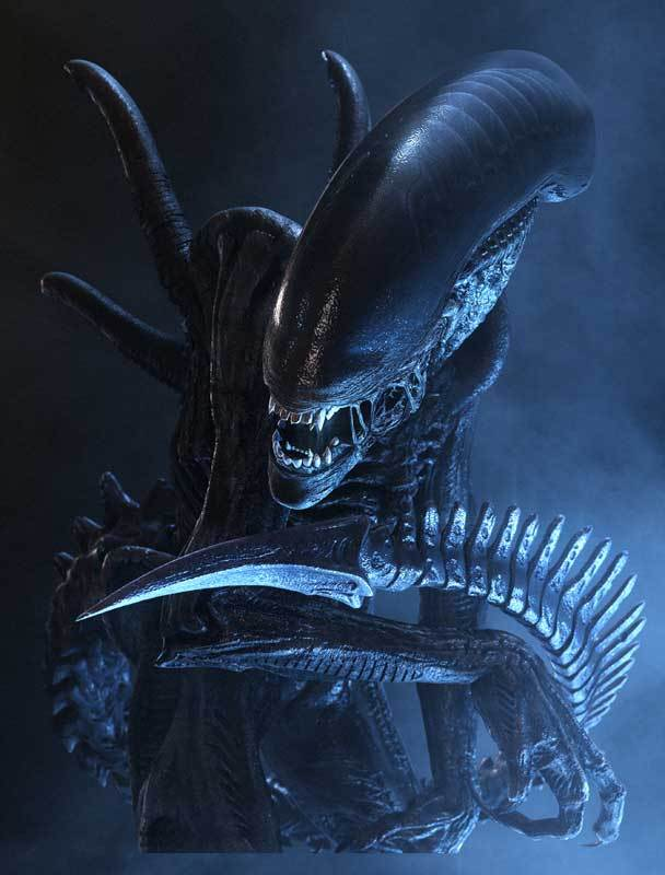 Un guerrier alien dans le film &;alien vs. predator&;