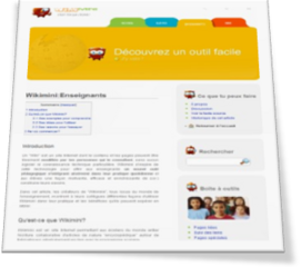 Fichier:Interface-Wikimini.png