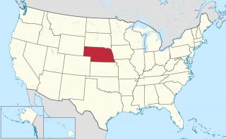 Fichier:Localisation état Nebraska.png