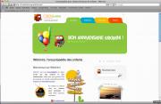 Page d'accueil de Wikimini en français
