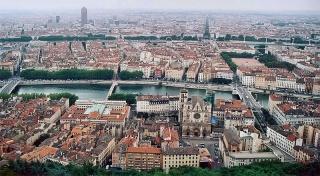Fichier:Lyon vue depuis Fourvière.jpg