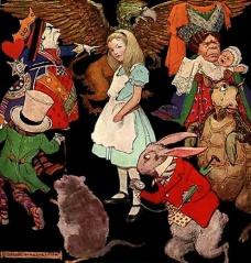 Fichier:Alice au pays des merveilles-Illustration Peter Newell.jpg