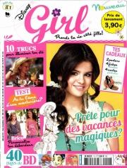 Couverture du magazine Disney Girl