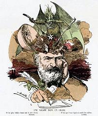 Fichier:Bertall-Une salade dans un crâne-Caricature Victor Hugo.jpg