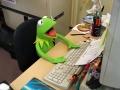 Kermit la grenouille-Bureau-Ordinateur-1980.jpg