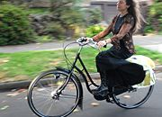 Une bicyclette traditionnelle