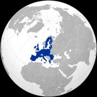 Localisation de l'Union européenne