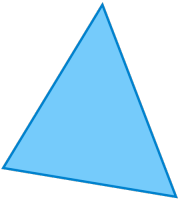 Triangle irrégulier (ou quelconque)