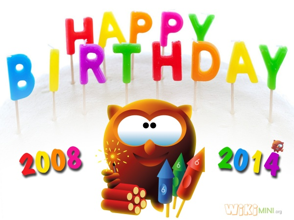 Wikimini-Happy Birthday 2014.jpg