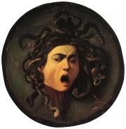 Gorgone Méduse par Le Caravage-Medusa by Carvaggio.jpg