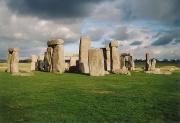 Stonehenge, un monument de pierres érigé durant le Néolithique.