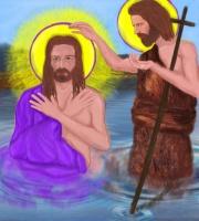 Peinture - Le Baptême de Jésus Christ.jpg