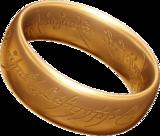 L'anneau est au centre de l'histoire.