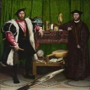 Les ambassadeurs-Anamorphose de Hans Holbein le Jeune-Illusion.jpg