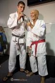 bbc5e3db1b58 Voici Helio Gracie (avec la ceinture rouge). Le Jujitsu brésilien ...