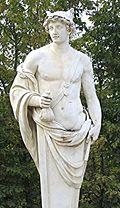 Statue représentant le dieu Hermès