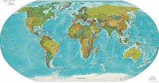 Fichier:Carte du monde en anglais.jpg