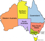 Carte Subdivisions Australie (en anglais).png
