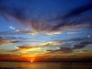 """Un """"coucher de soleil"""""""