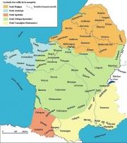 Carte des Peuples Gaulois