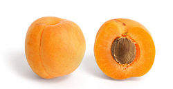 Un abricot.