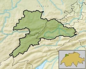 Fichier:Carte du Jura avec reliefs.jpg