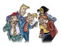 Quelques personnages de cette bande dessinée...