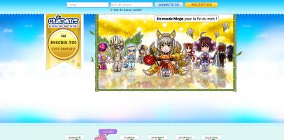 Page d'accueil actuelle de Chapatiz