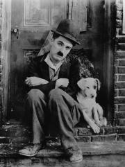 Charlie Chaplin avec son chien.jpg