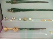 Mycenaean bronze swords .JPG