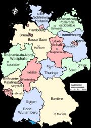 Carte - États fédérés (Lands) d'Allemagne.png