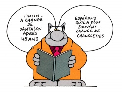 bande dessinee le chat