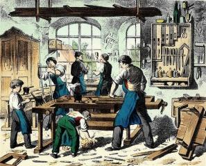 Fichier:Atelier de menuisier vers 1880-Métier.jpg